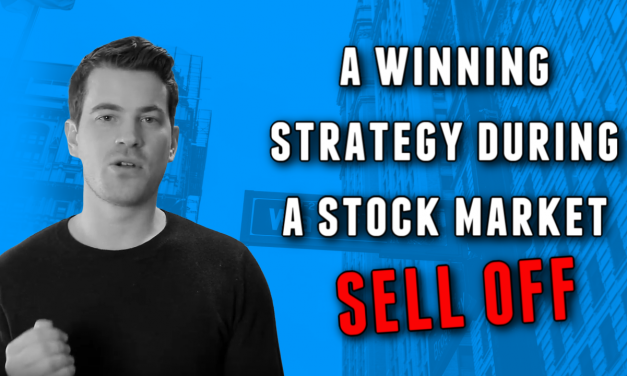 A winning strategy during a stock market sell off 📈